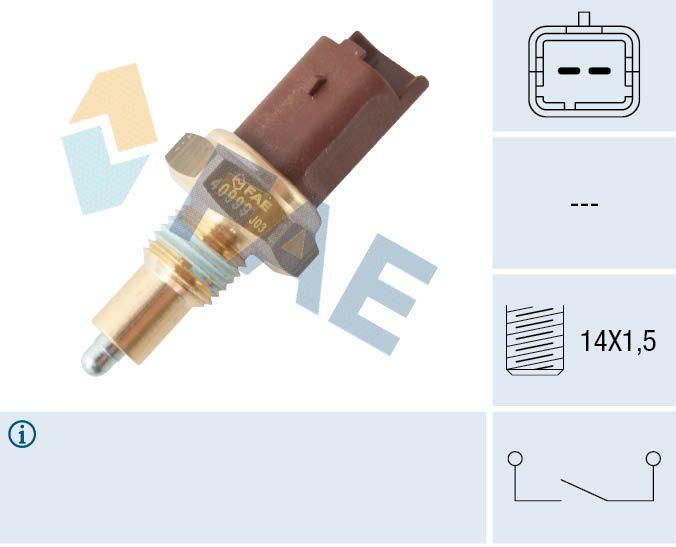 FAE: Original Schalter Rückfahrleuchte 40999 (Pol-Anzahl: 2-polig)