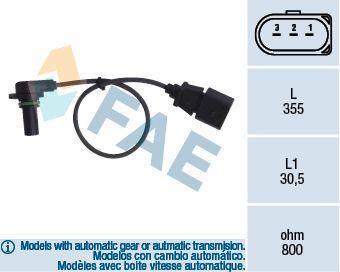Nockenwellenpositionssensor FAE 79062