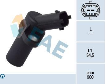 79093 FAE Polantal: 2-polig Impulsgivare, vevaxel 79093 köp lågt pris