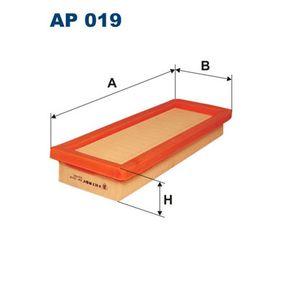 Kaufen Sie Luftfilter AP019 FIAT 126 zum Tiefstpreis!