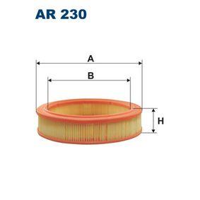 Luftfilter AR230 TOYOTA MODELL F Buss till rabatterat pris — köp nu!