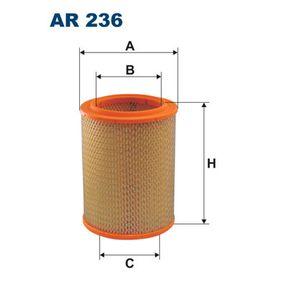 Filtre à air AR236 RENAULT FUEGO à prix réduit — achetez maintenant!