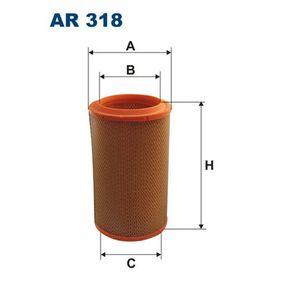Kaufen Sie Luftfilter AR318 FIAT BARCHETTA zum Tiefstpreis!
