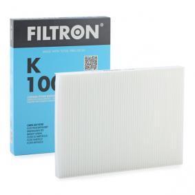 Filtro, aire habitáculo K1006 SEAT IBIZA III (6K1) ¡reciba el descuento ya mismo!