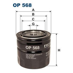 Oljefilter OP568 VOLVO DUETT till rabatterat pris — köp nu!