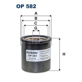 olajszűrő OP582 mert PEUGEOT J7 engedménnyel - vásárolja meg most!
