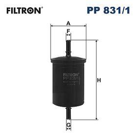 filtru combustibil PP831/1 la preț mic — cumpărați acum!