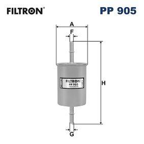 Filtro combustible PP905 SEAT IBIZA III (6K1) ¡reciba el descuento ya mismo!