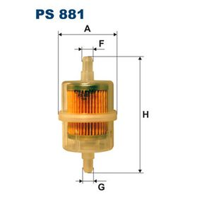 Kaufen Sie Kraftstofffilter PS881 FIAT 130 zum Tiefstpreis!