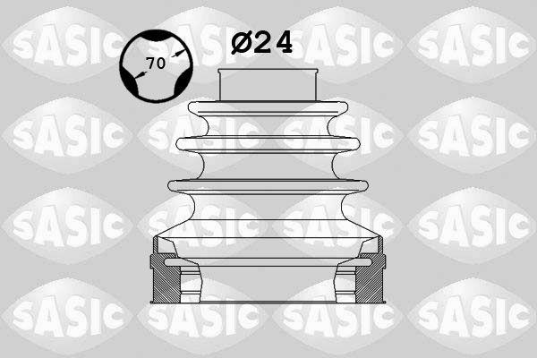 Comprare 1906025 SASIC sul lato del cambio Kit cuffia, Semiasse 1906025 poco costoso