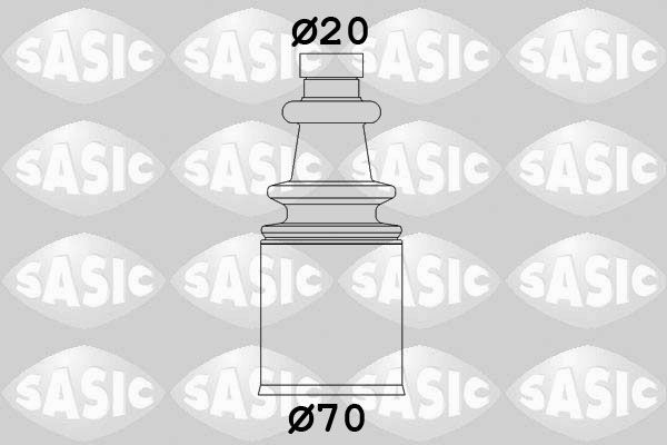 Cuffia semiasse 2873693 con un ottimo rapporto SASIC qualità/prezzo
