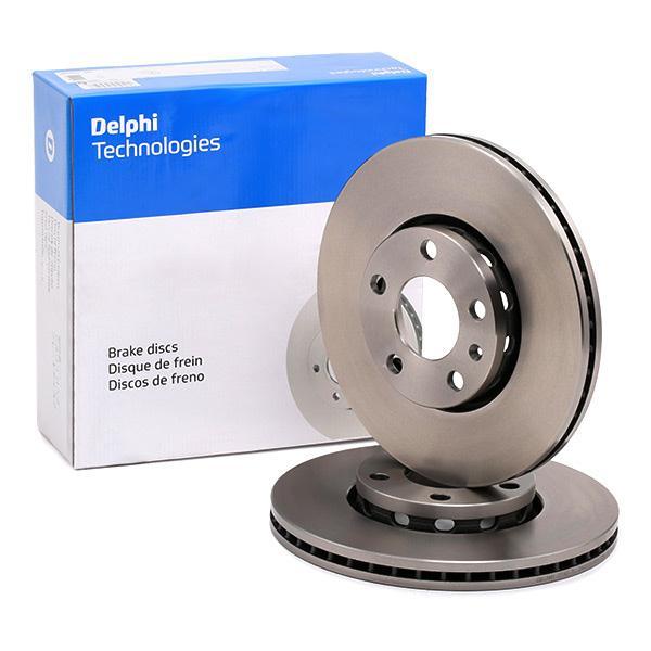Volkswagen MULTIVAN DELPHI Disque de frein BG2745