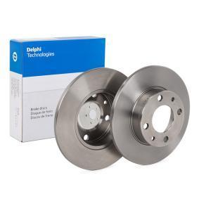 Disc frana BG2147 pentru SEAT 131 la preț mic — cumpărați acum!