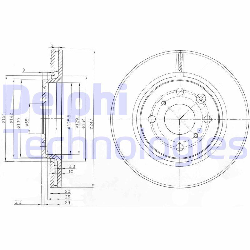 BG3976 Bremsscheiben Satz DELPHI Erfahrung