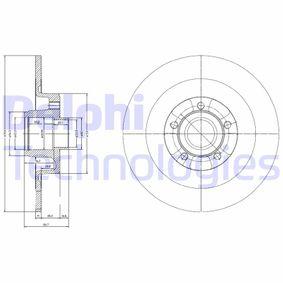 BG9024RS DELPHI Voll Ø: 300mm, Lochanzahl: 5, Bremsscheibendicke: 11mm Bremsscheibe BG9024RS günstig kaufen