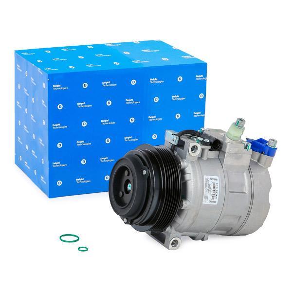 TSP0159083 DELPHI PAG 46, mit PAG-Kompressoröl Riemenscheiben-Ø: 120mm Klimakompressor TSP0159083 günstig kaufen