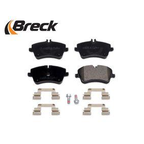 23144 00 701 20 Bremsbelagsatz BRECK - Markenprodukte billig