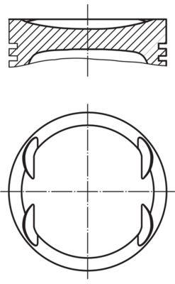 MAHLE ORIGINAL: Original Kolben 011 69 02 ()