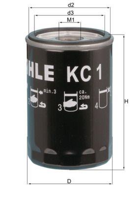 ISUZU Filtre à carburant d'Origine KC 1