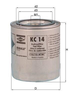 Original IVECO Dieselfilter KC 14