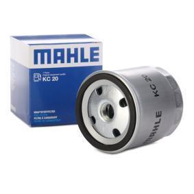Kúpte a vymeňte Palivový filter MAHLE ORIGINAL KC 20