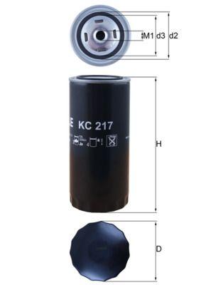 Original IVECO Kraftstofffilter KC 217