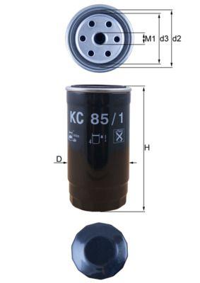Original ROVER Dieselfilter KC 85/1