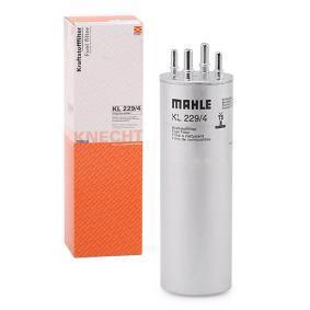 76832760 MAHLE ORIGINAL Ledningsfilter H: 276,24mm Bränslefilter KL 229/4 köp lågt pris