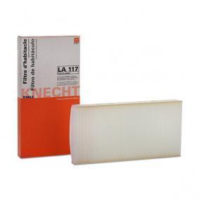 ostke ja asendage Filter, salongiõhk MAHLE ORIGINAL LA 117