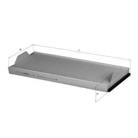 Kupte a vyměňte Filtr, vzduch v interiéru MAHLE ORIGINAL LA 358