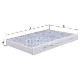 LAK 387 Filter, Innenraumluft MAHLE ORIGINAL - Markenprodukte billig