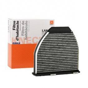 LAO4131 MAHLE ORIGINAL Aktivkohlefilter Breite: 284,0mm, Höhe: 78,5mm Filter, Innenraumluft LAK 413 günstig kaufen