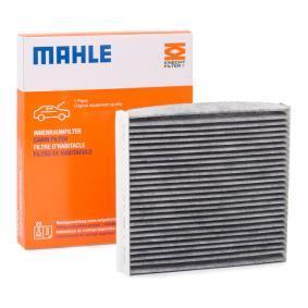 LAO490 MAHLE ORIGINAL Aktivkohlefilter Breite: 207,0mm, Höhe: 30,0mm Filter, Innenraumluft LAK 490 günstig kaufen