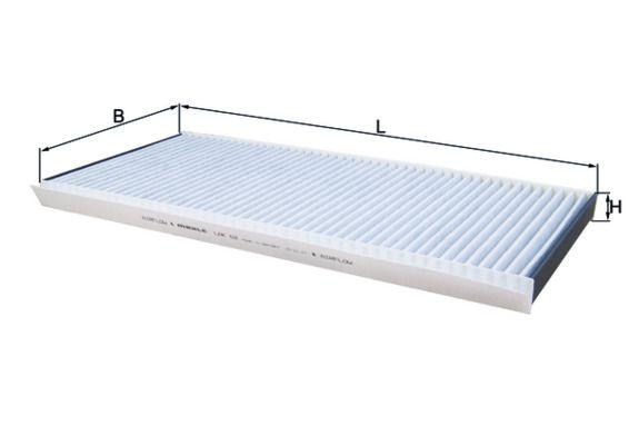 MAHLE ORIGINAL Filter, Innenraumluft LAK 62