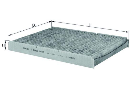 LAK 63 Филтър, въздух за вътрешно пространство MAHLE ORIGINAL - опит