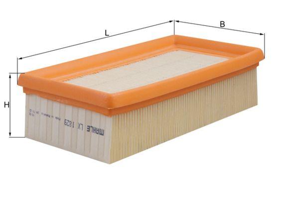 MAHLE ORIGINAL Luftfilter Filterinsats LX 1829 KTM