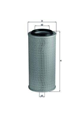 MAHLE ORIGINAL Luftfilter LX 236