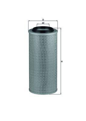 LX 2635 MAHLE ORIGINAL Luftfilter für AVIA online bestellen