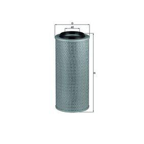 70386508 MAHLE ORIGINAL Filtereinsatz Höhe: 335,5mm Luftfilter LX 2635 günstig kaufen