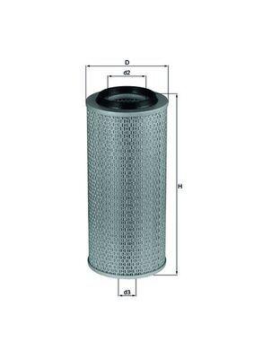 LX 275 MAHLE ORIGINAL Luftfilter für FORD online bestellen
