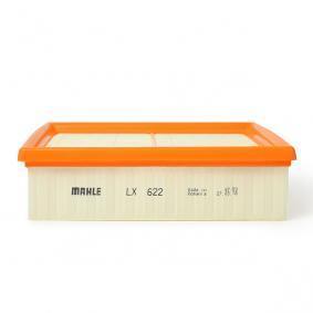 LX 622 Oro filtras MAHLE ORIGINAL - Pigus kokybiški produktai
