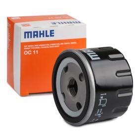 72014116 MAHLE ORIGINAL Screw-on Filter Inner Diameter 2: 62,5mm, Ø: 76,3mm, Height: 59,0mm Oil Filter OC 11 cheap