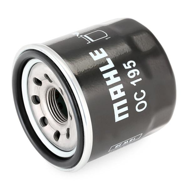 OC 195 Filter MAHLE ORIGINAL - Markenprodukte billig