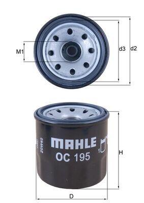 OC195 Ölfilter MAHLE ORIGINAL Erfahrung