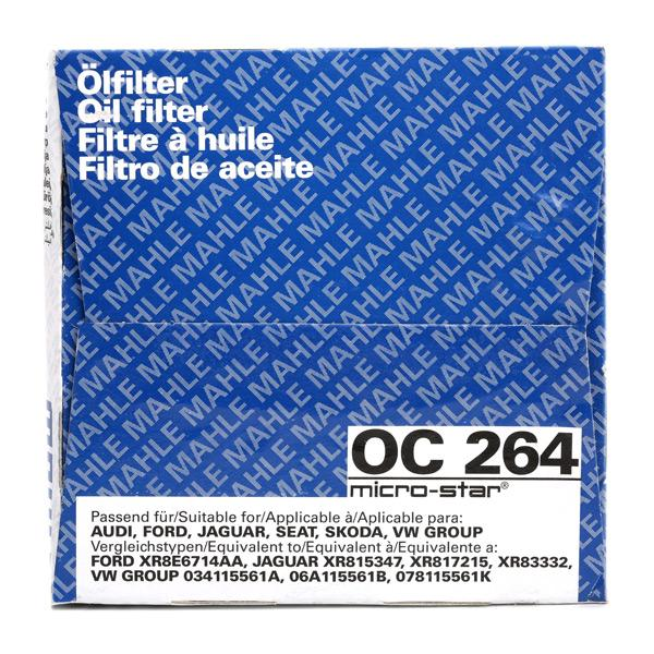 OC 264 Oljefilter MAHLE ORIGINAL originalkvalite