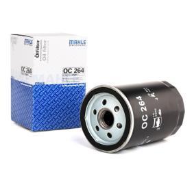 Osta 79932303 MAHLE ORIGINAL Keeratav filter Siseläbimõõt 2: 62,0mm, Ø: 76,0mm, Kõrgus: 119,5mm Õlifilter OC 264 madala hinnaga