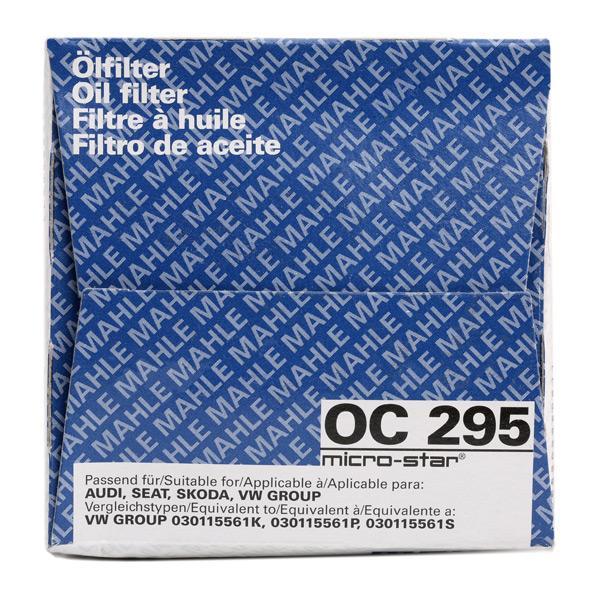 OC 295 Motorölfilter MAHLE ORIGINAL in Original Qualität