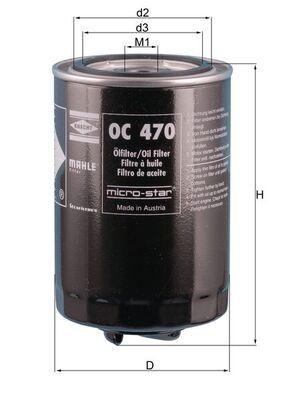 MAHLE ORIGINAL | Ölfilter OC 470