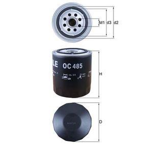 OC 485 Ölfilter MAHLE ORIGINAL - Markenprodukte billig