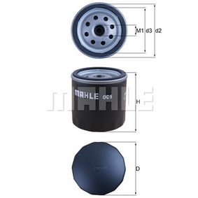 OC5 Oil Filter MAHLE ORIGINAL - Experience and discount prices